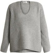 Acne Studios Deborah oversized V-neck wool sweater