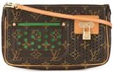 Louis Vuitton pre-owned perforated monogram shoulder bag