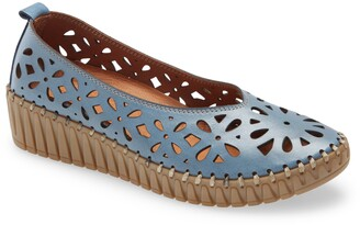 Sheridan Mia Tia Perforated Leather Loafer