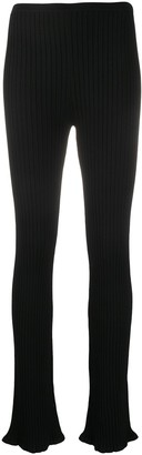 Totême Ribbed Knit Trousers