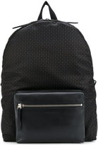 Alexander McQueen micro skull backpack - men - Leather/Polyamide - One Size
