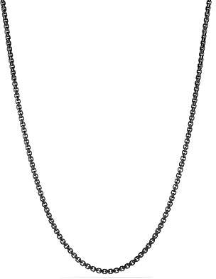"""David Yurman Box Chain Necklace, 22"""""""
