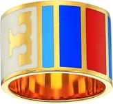 Tory Burch Geo Striped Ring Ring