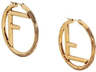 Fendi F Is large earrings