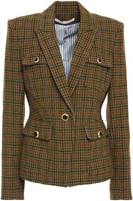 Veronica Beard Hamlin Checked Wool Blazer