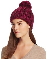 Echo Chunky Beanie with Pom-Pom - 100% Exclusive