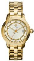Tory Burch Tory Watch, Gold-Tone/Ivory, 37 Mm