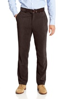 Louis Raphael Men's Flat-Front Modern-Fit Corduroy Dress Pant