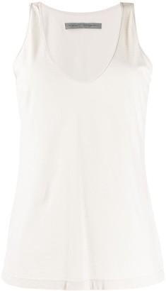 Raquel Allegra Long-Line Vest Top