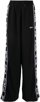 Fila Logo-Panelled Wide Trousers