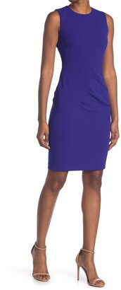 Calvin Klein New Starburst Sheath Dress