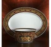 Rosenthal Meets Versace Medusa Platter, 13.5