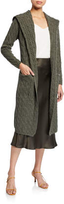 SABLYN Hope Cashmere Hooded Duster Sweater