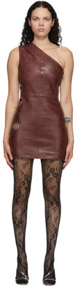 Saks Potts Burgundy Chain Dress