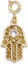 INC International Concepts Gold-Tone Crystal Hamsa Charm, Only at Macy's
