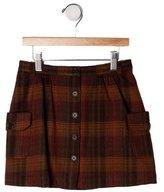 Bonpoint Girls' Wool Skirt