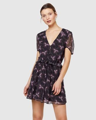 Stevie May Admire Her Mini Dress