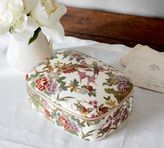 Pottery Barn Romantic Ceramic Boxes
