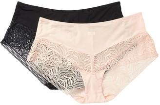 Felina Carolina Hipster Panties - Pack of 2