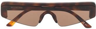 Balenciaga Eyewear ski rectangle sunglasses