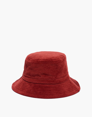 Madewell Short-Brimmed Corduroy Bucket Hat