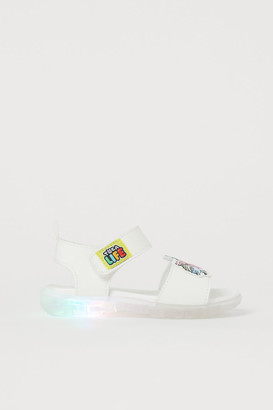 H&M Light-up Sandals - White