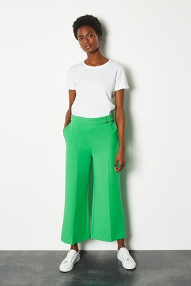 Karen Millen Square D Ring Crop Trouser