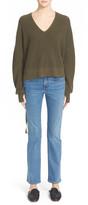 Helmut Lang Skinny Flare Crop Jeans