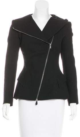 Alexander McQueen Wool Structured Jacket w/ Tags