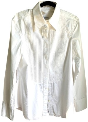Drykorn White Cotton Top for Women