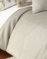 Isabella Collection Queen Ethos Gray Duvet Cover
