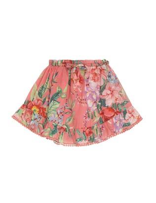 Zimmermann Bellitude Flounce Skirt