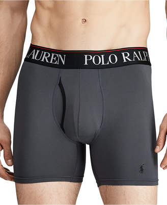 Polo Ralph Lauren Men 3-Pk. 4-d Flex Cool Microfiber Boxer Briefs
