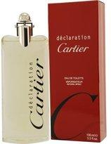 Cartier DECLARATION by EDT SPRAY 3.3 OZ