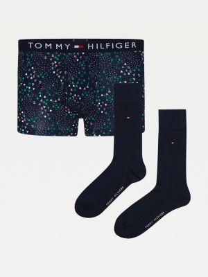 Tommy Hilfiger Stretch Cotton Trunks And Socks Set