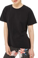 Topshop Tulle Back Tee