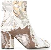 Maison Margiela portrait ankle boots