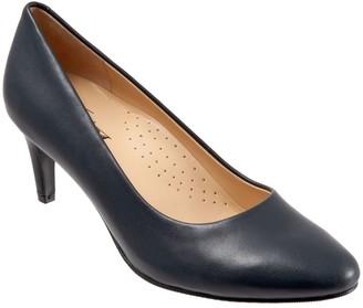 Trotters Leather Dressy Pumps - Babette