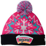 New Era San Antonio Spurs Glowflake Knit Hat