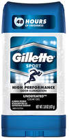 Gillette Antiperspirant Clear Gel Undefeated