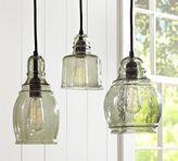 Pottery Barn Paxton Glass Single Pendants