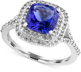 Effy Final Call Tanzanite (2-1/4 ct. t.w.) and Diamond (3/8 ct. t.w.) Ring in 14k White Gold