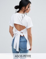 Asos T-Shirt with Open Back