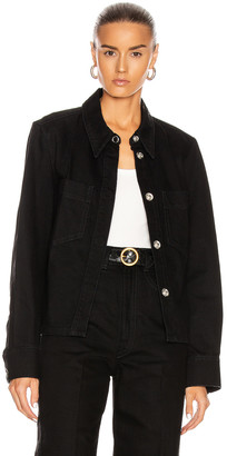 Lemaire Boxy Top in Black | FWRD