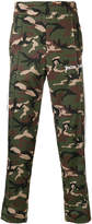 Palm Angels camouflage logo trousers