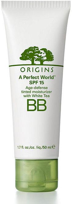 Origins A Perfect World SPF 15-Age defense tinted moisturizer with White Tea, Shade 02 1.7 fl oz (50 ml)