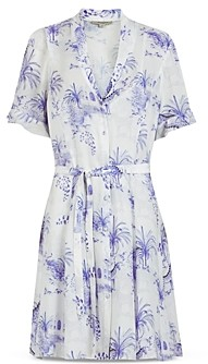 AllSaints Fay Tajpur Belted Shirtdress