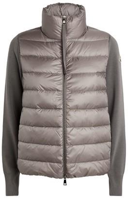 Moncler Padded Zip-Up Cardigan