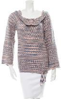 Missoni Wool Open Knit Sweater