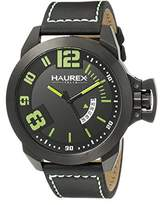 Haurex Italy Men's 6N509UAN Storm Analog Display Quartz Black Watch